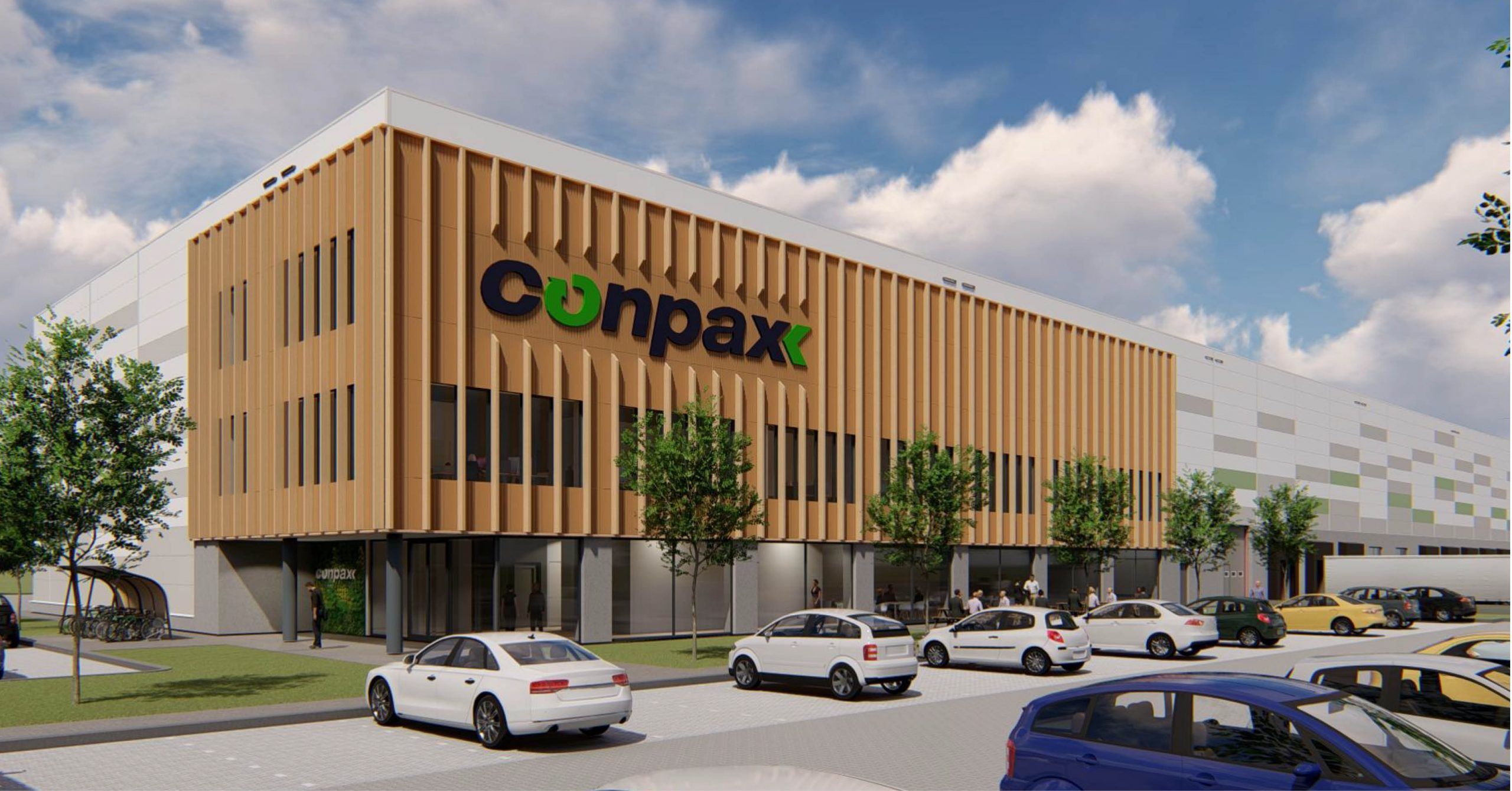 Conpax verhuist naar een nieuw duurzaam pand